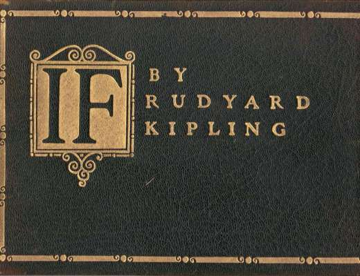 If by Rudyard Kipling 1910