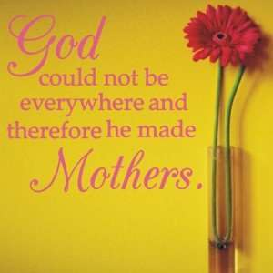 Mother's Day tribute thanks