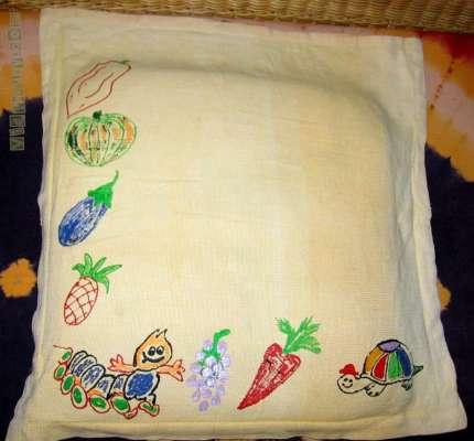 Present Moment Vidya Sury cushion