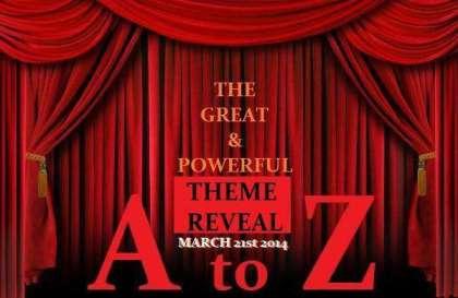 April A to Z Challenge Theme Reveal