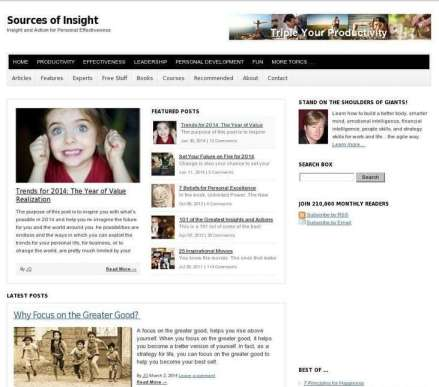 Sources Of Insight Blog Love