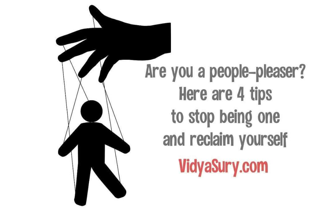4 tips to stop being a people pleaser