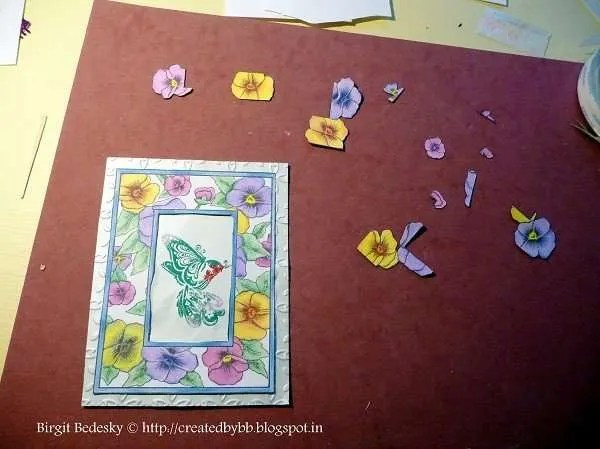 Greeting card DIY