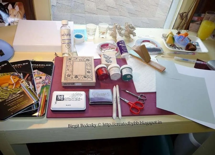 greeting card DIY vidya sury