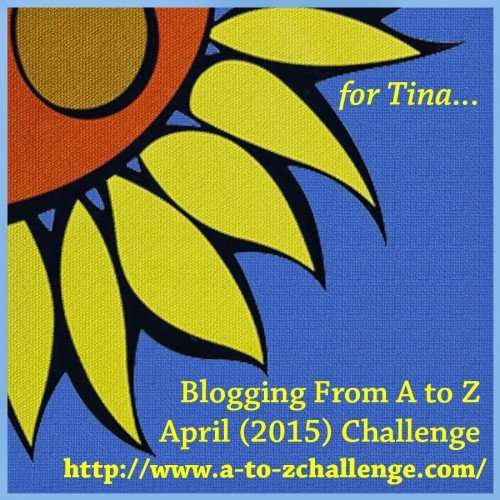 A to Z challenge theme reveal vidya sury