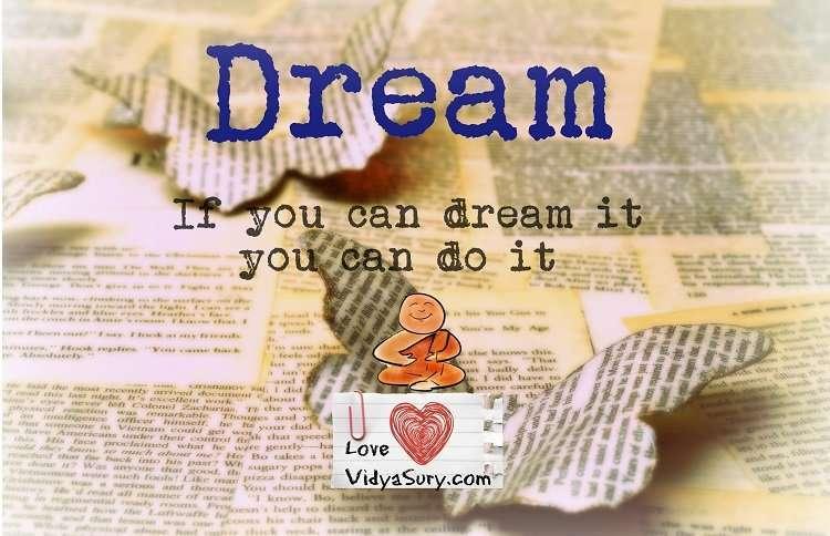 dream vidya sury
