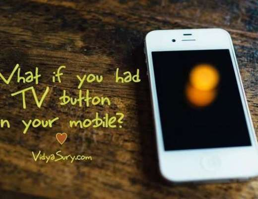 What if you had a TV button on your mobile? #nexGTv