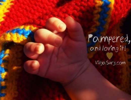 Pampered and Loving it. Vidya Sury