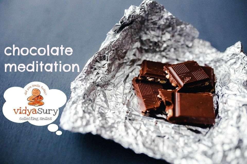Chocolate Meditation Vidya Sury