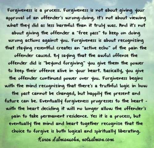 forgiveness. Vidya Sury