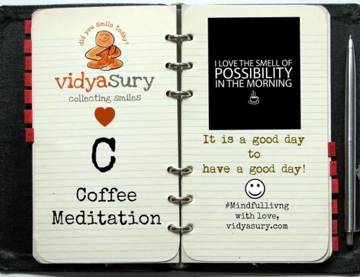 vidya sury coffee meditation