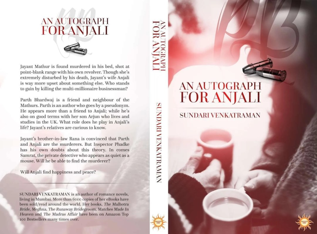 An autograph for Anjali Book Review 2