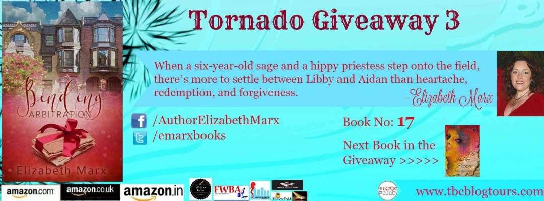 Binding Arbitration by Elizabeth Marx #TornadoGiveaway 3