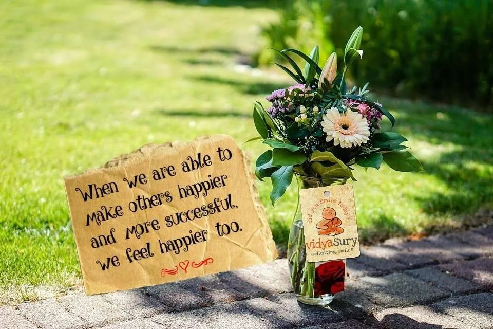 Create happiness Vidya Sury