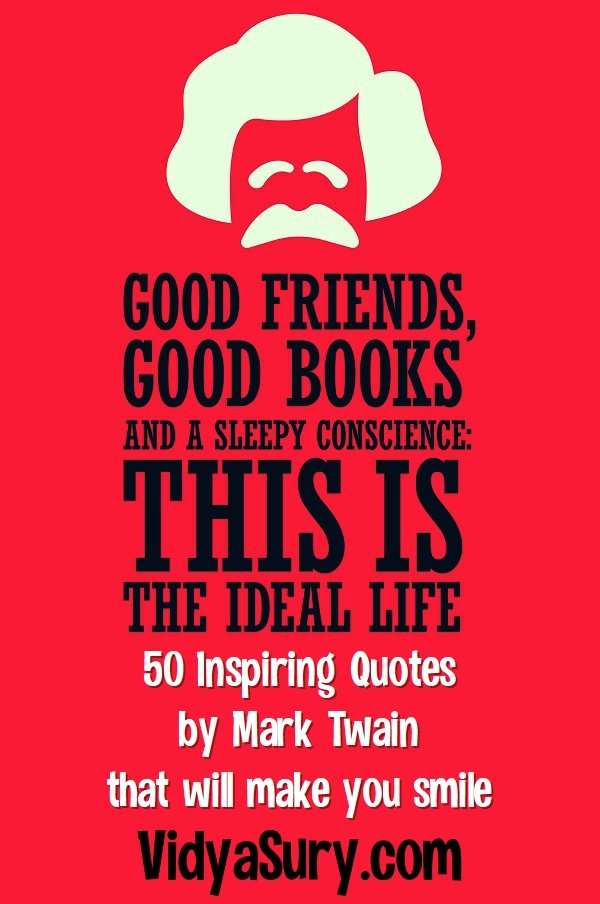 50 inspiring quotes by Mark Twain that will make you smile