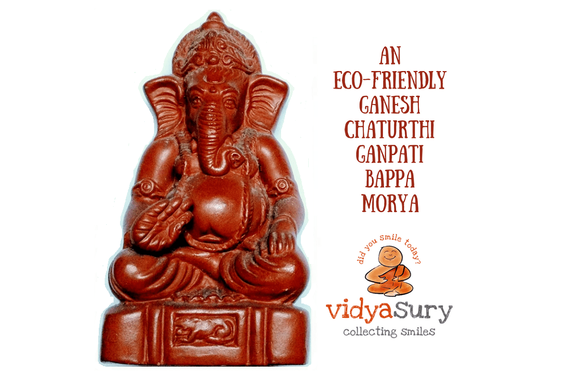 eco friendly ganesh chaturthi ideas vidya sury collecting smiles