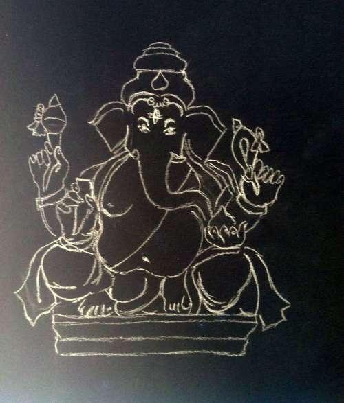 Eco-friendly ganesh chaturthi immersion Vidya Sury