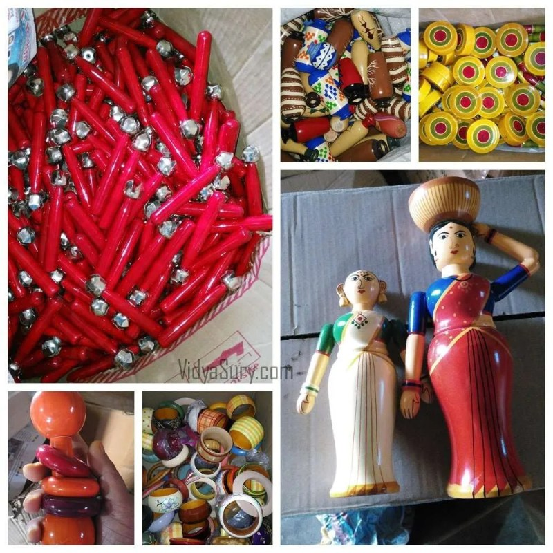Some of the toys ready for sale. From my trip to Channapatna #OlaRental #toys #incredibleindia #travel