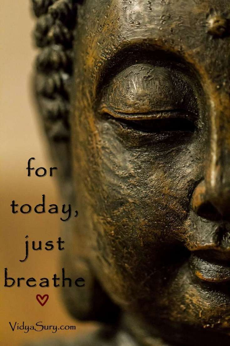 For today, just breathe #mindfulness #wednesdaywisdom