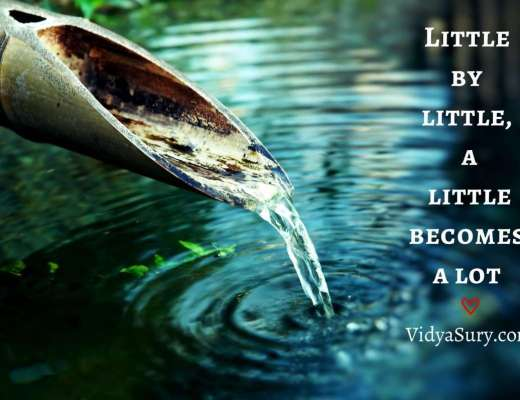 Little by little, a little becomes a lot #wednesdaywisdom #mindfulness #inspiringquotes