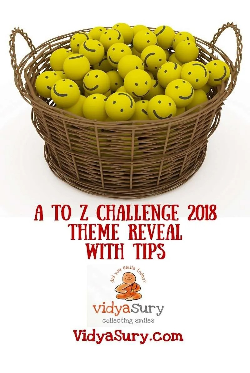 A to Z Challenge Theme Reveal and Tips #atozchallenge #tips #themereveal