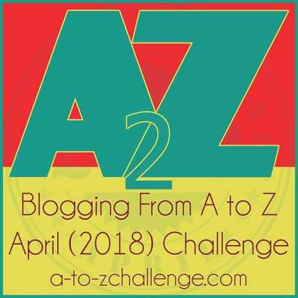 April 2018 A to Z Challenge Theme Reveal #themereveal #atozchallenge