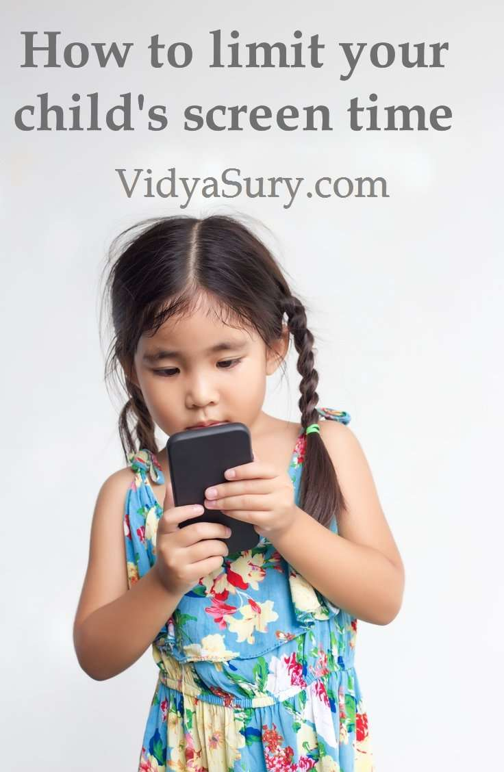 How to limit screen time for kids #parenting #screentime #kidshealth