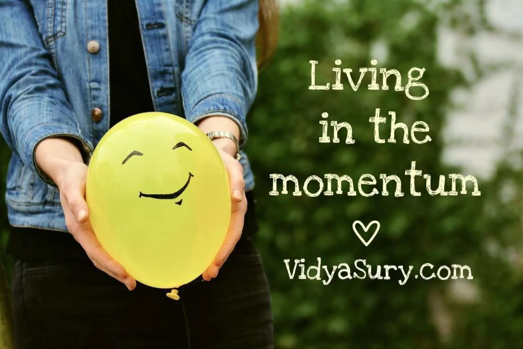 Living in the Momentum #gratitudecircle #mindfulness