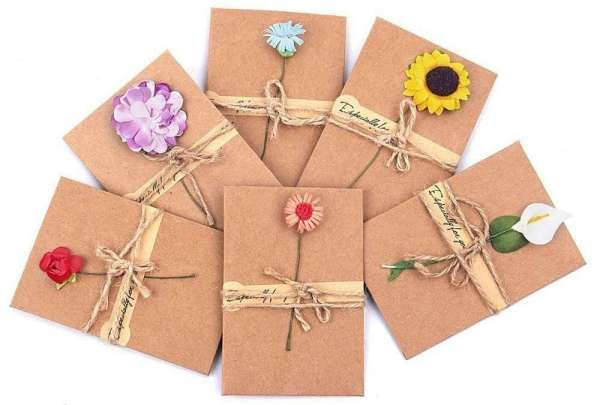 Dried Flowers Greeting Card #MothersDay #GiftIdeas