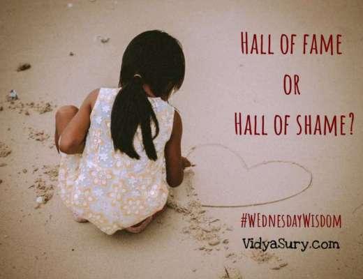 Hall of fame or hall of shame