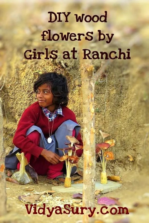 Girl power DIY wood flowers Ranchi_Fotor