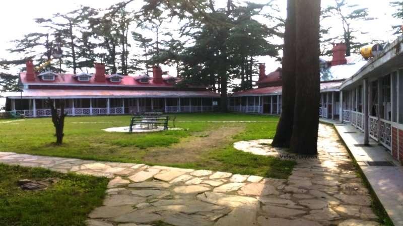 Himneel Block Chail Palace Himachal Pradesh