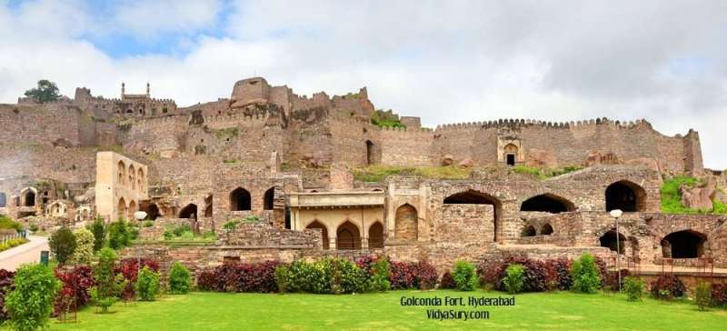 Golconda Fort: top 5 places to visit in Hyderabad