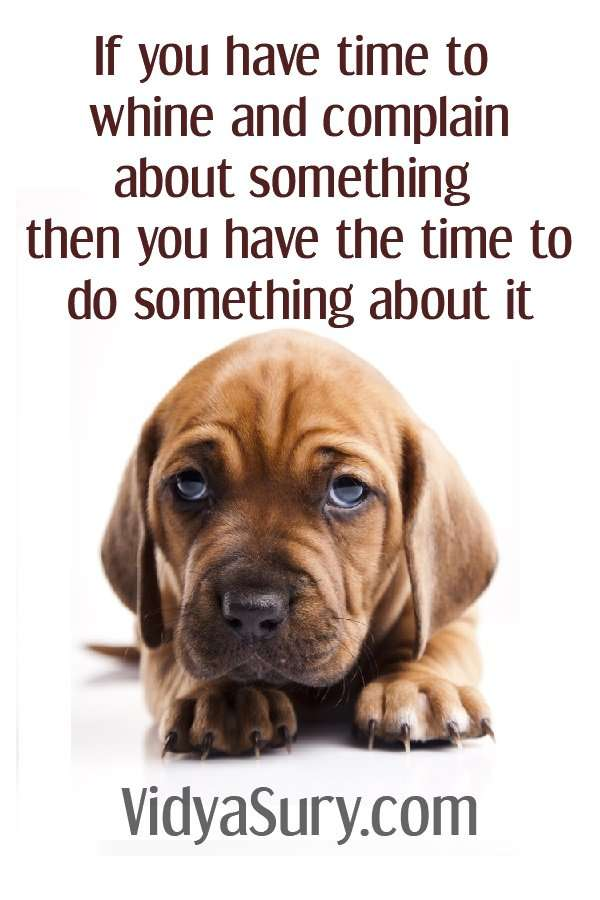 If you have time to whine and complain about something then you have the time to do something about it #inspiringquotes #mindfulness #selfhelp