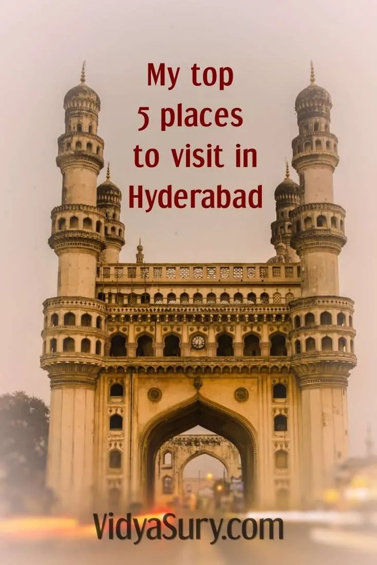 My top 5 places to visit in Hyderabad #incredibleindia #travel #Hyderabad