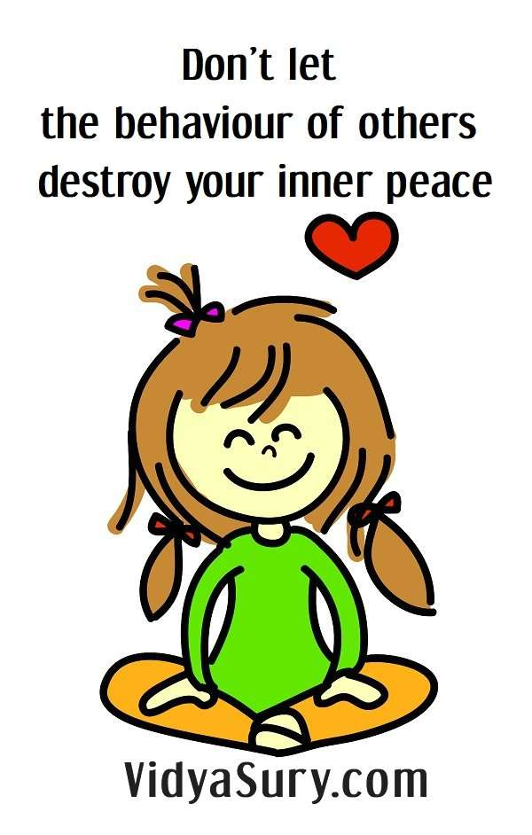Don't let the behaviour of others destroy your inner peace #selflove #innerpeace #mindfulness #inspiringquotes