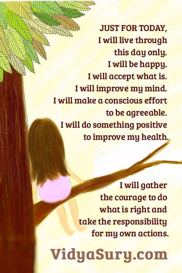 Just for today, I will live through this day only #affirmations #inspiringquotes #wordsofwisdom #mindfulness