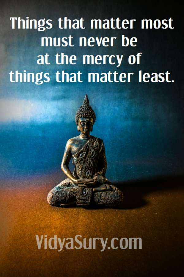 Take out the trash because things that matter most must never be at the mercy of things that matter least. #inspiringquotes #wordsofwisdom #mindfulness #selfhelp