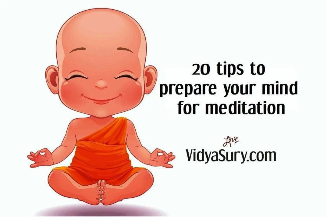 20 tips to prepare your mind for meditation a