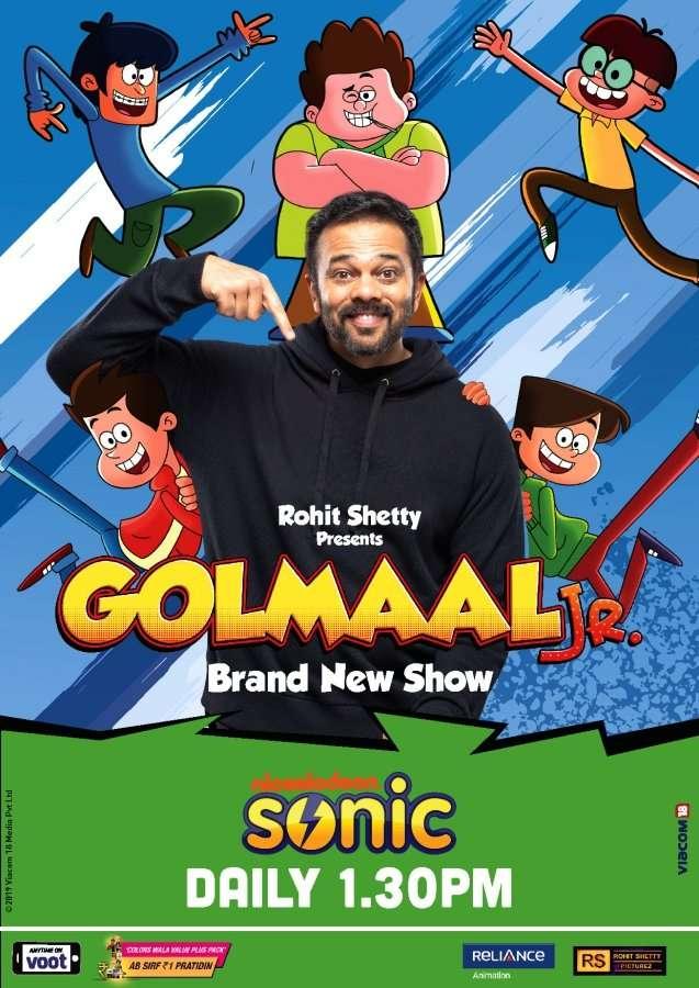Watch Golmaal Jr. on Sonic