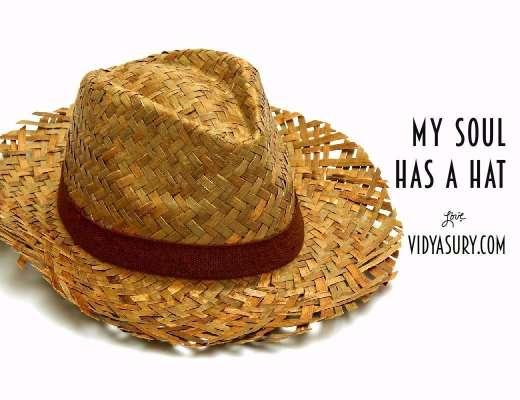 My soul has a hat