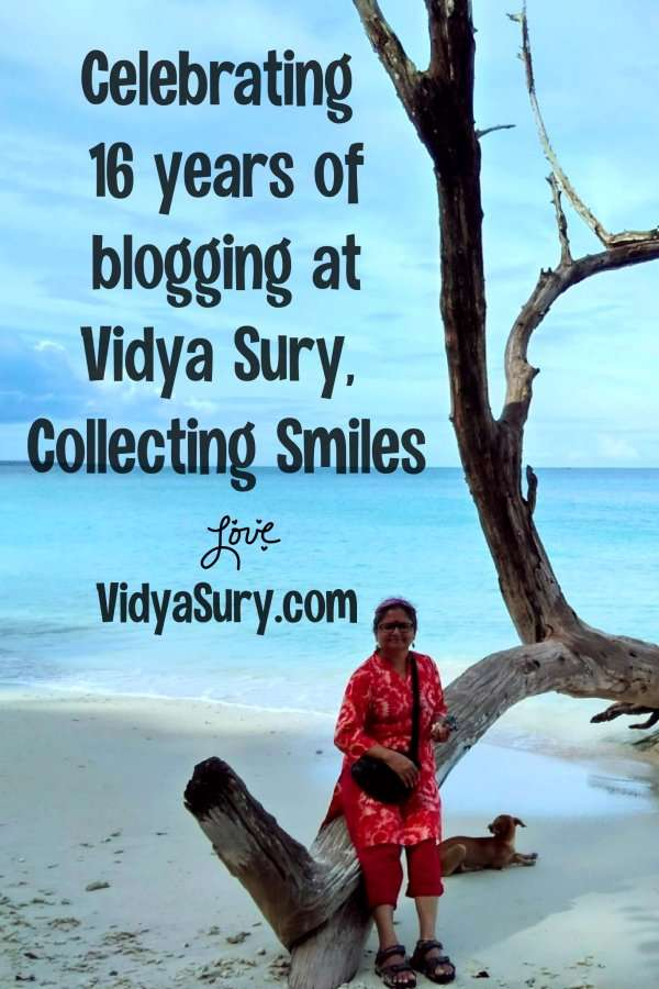 Celebrating 16 years of blogging