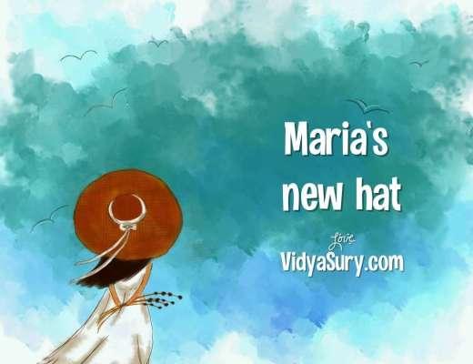 Maria's New Hat. Wednesday WIsdom story