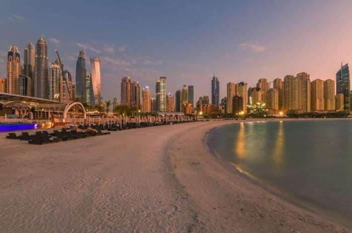 JBR Beach Interesting Things to See in Dubai