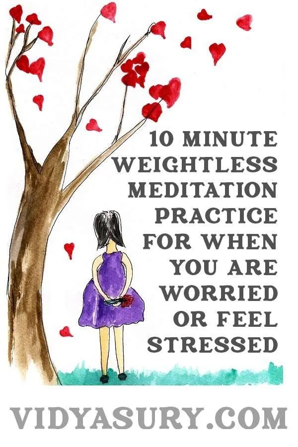 10 Minute Weightless Meditation for when you are worried