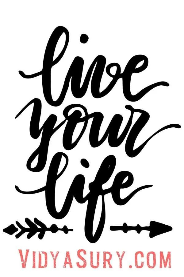 Life Your Life Care less about what does not matter