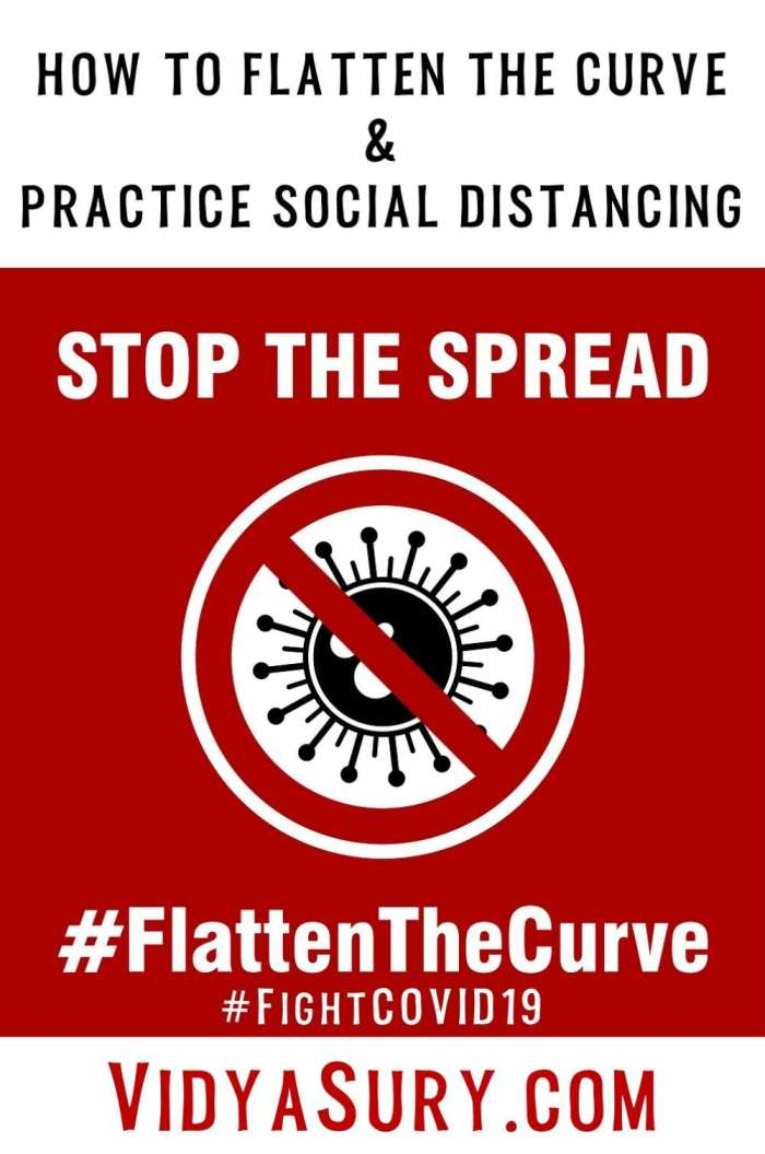 How to flatten the curve and practice social distancing