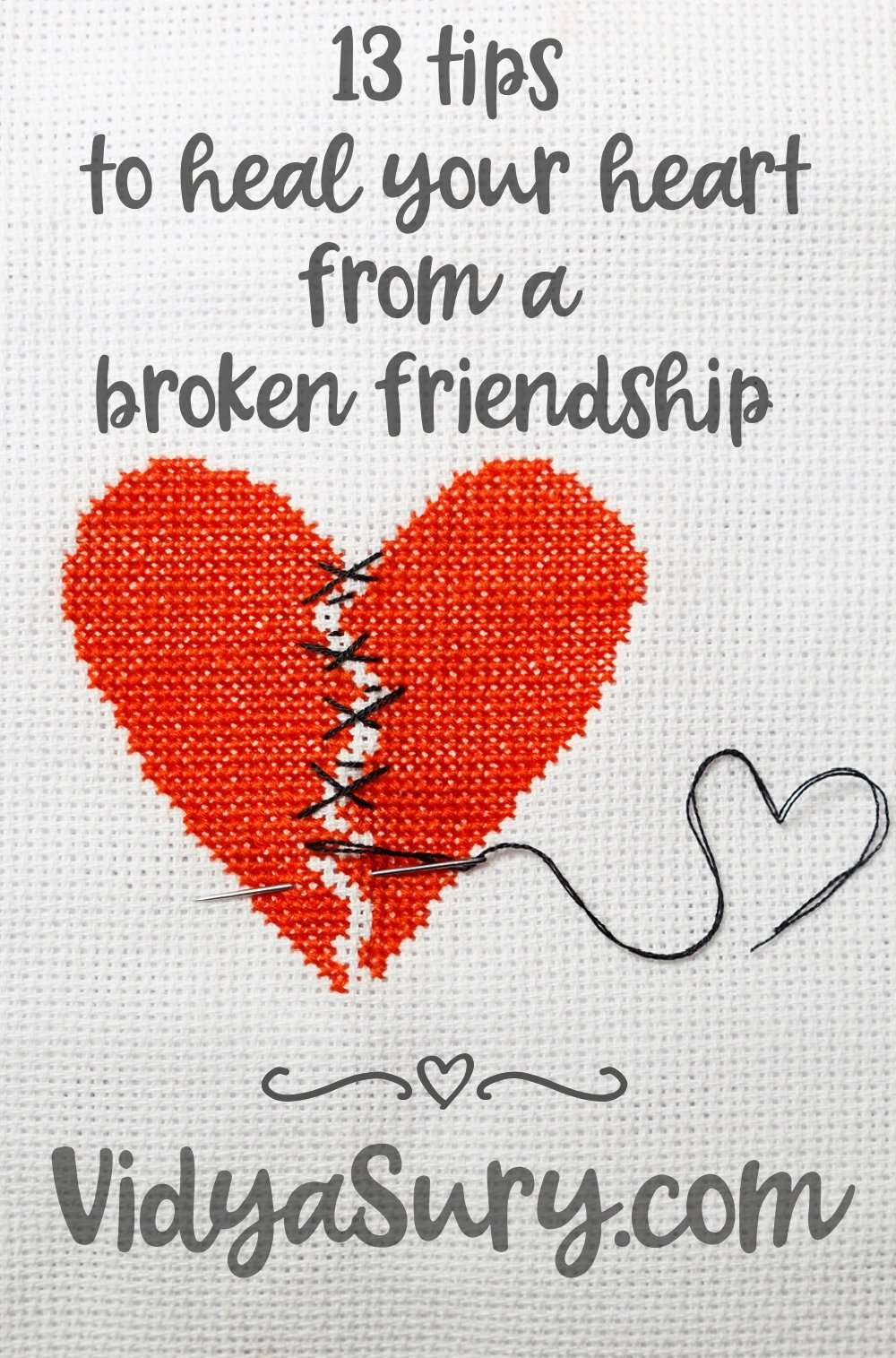 13 tips to heal your heart from a broken friendship