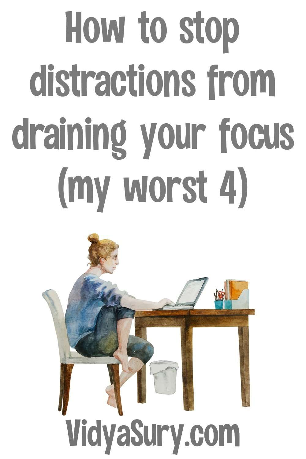 4 distractions that drain your focus