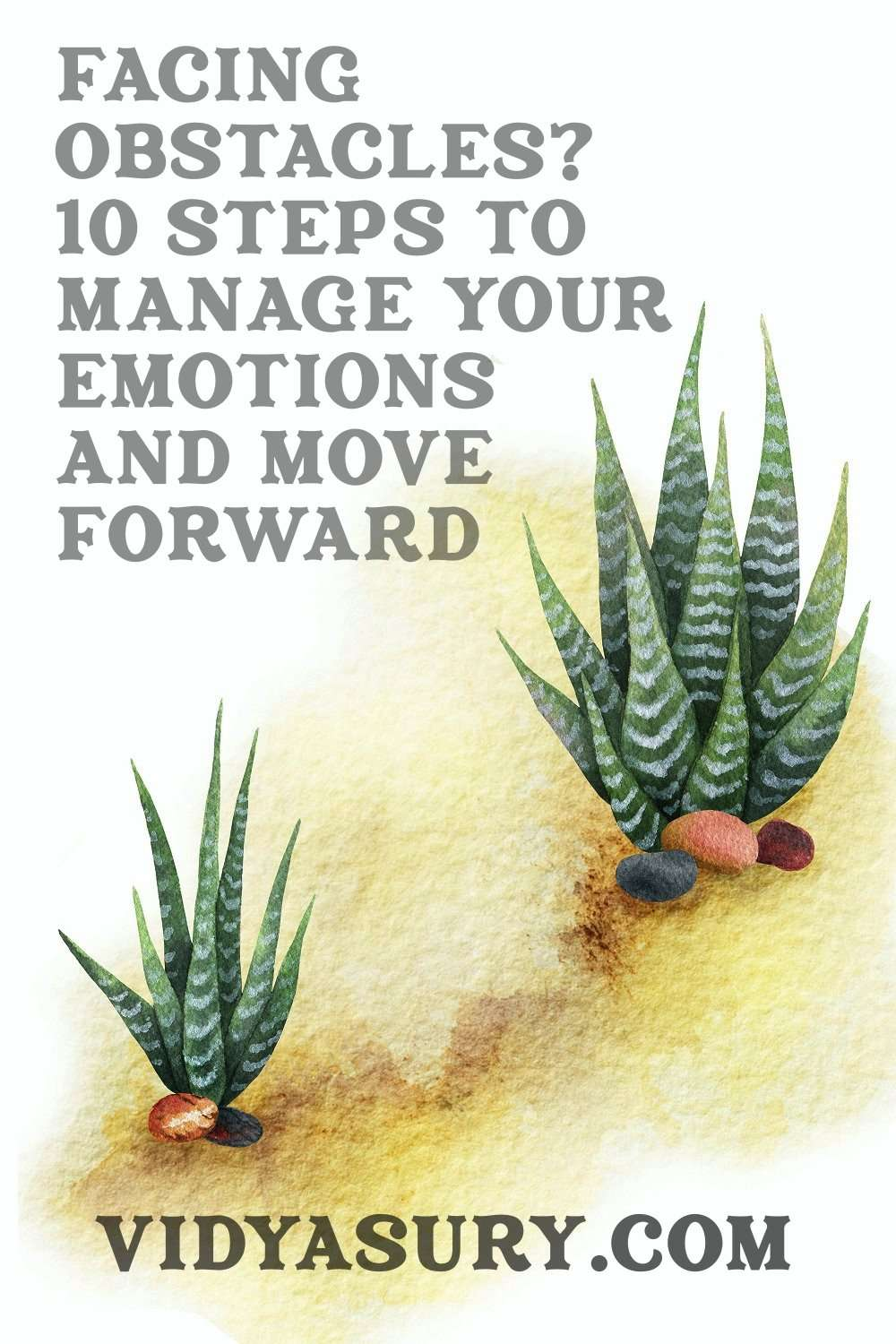 Facing Obstacles 10 steps to manage emotions